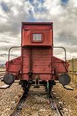 Old freight wagon — Stock Photo
