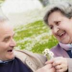 Elderly couple — Stock Photo #25158581