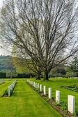 Krigskyrkogården — Stockfoto