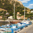 Small harbor in Sicily — Stock Photo