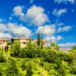 Medieval village in Tuscany (Italy) — Stock Photo