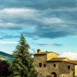 Farmhouse in tuscany — Stock Photo