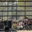 Outdoor stage — Stock Photo