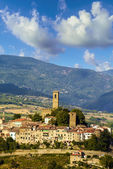 Medieval town in tuscany (Italy) — Stock Photo