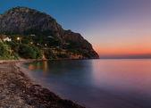 Gryningen på Sicilien (Italien) — Stockfoto