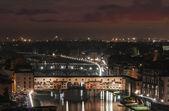Florence par nuit — Photo
