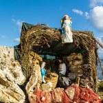 Nativity Scene on the Mediterranean Sea — Stock Photo #37253689