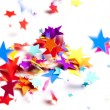 Colored stars confetti — Stock Photo #18367813