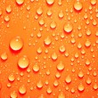 Background of water big and small drops — Stock Photo #18681909