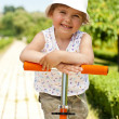 Little girl in the park — Stock Photo #18688681