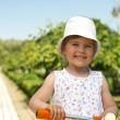Little girl in the park — Stock Photo #18688941