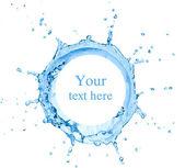 Splash van water — Stockfoto