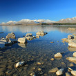 Blue Sky across Lake Tekapo, Southland, New Zealand — Stock Photo