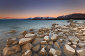 Enchanted Sunset at Lake Tekapo, Southland, New Zealand — Stock Photo