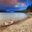 Lake Wakatipu, Queenstown, New Zealand — Stock Photo