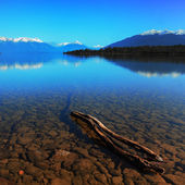 Old Jetty at Te Anau Lake, New Zealand — Stock Photo