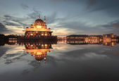 Dawn over Putra Mosque, Putrajaya — Stock Photo