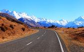 Yeni zelanda'da yol — Stok fotoğraf