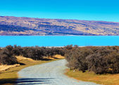 Lake pukaki, nya zeeland — Stockfoto