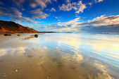 Koekohi Beach, Moeraki Boulders, New Zealand — Stock Photo