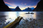 Sonido de milford, nueva zelanda — Foto de Stock