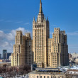 Stalin's  highrise building. Moscow. — Stock Photo