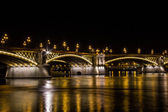 Margaret Bridge, Budapest — Stock Photo
