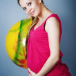 Pregnant girl - Stock Photo