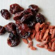Stock Photo: Fruit Lemon and goji berries