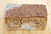 Wholemeal bread moldy — Стоковое фото
