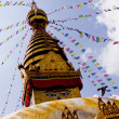 Bodhnath Stupa in Nepal — Stock Photo