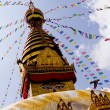Bodhnath Stupa in Nepal — Stock Photo #18900771