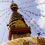 Bodhnath Stupa in Nepal — Stock Photo