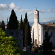 Stock Photo: Basilicin Assisi