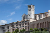 Basilica Of San Francesco Assisi — Stock Photo