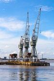 Dockside-kran-dienst — Stockfoto