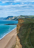 Jurassic coast Dorset UK — Stock Photo