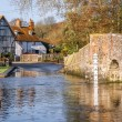 Stock Photo: Ford at Eynsford