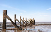 Southend Essex UK old pier — Stock Photo