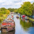Canal scene vertical uk — 图库照片 #29570831