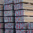 Foto Stock: Scaffold boards