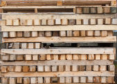 Timber and pallet — Stock Photo