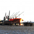 图库照片: River thames estuary shipping