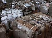 Waste management paper recycling — Stock fotografie