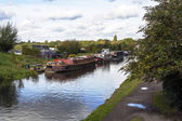 Canals of england — Stock Photo