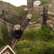 Stock Photo: Hastings sussex east cliff railway