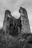жуткий замок — Стоковое фото