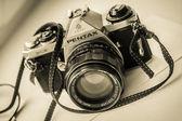 Idealny mały aparat fotograficzny — Zdjęcie stockowe