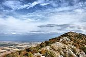 Mountain ridge against the sky — Stock Photo