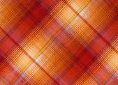 Plaid fabric — Foto Stock